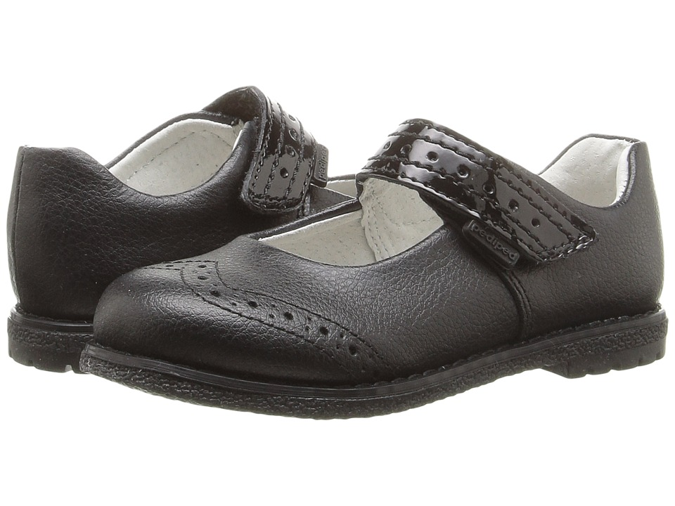 pediped - Autumn Flex (Toddler/Little Kid/Big Kid) (Black) Girl's Shoes