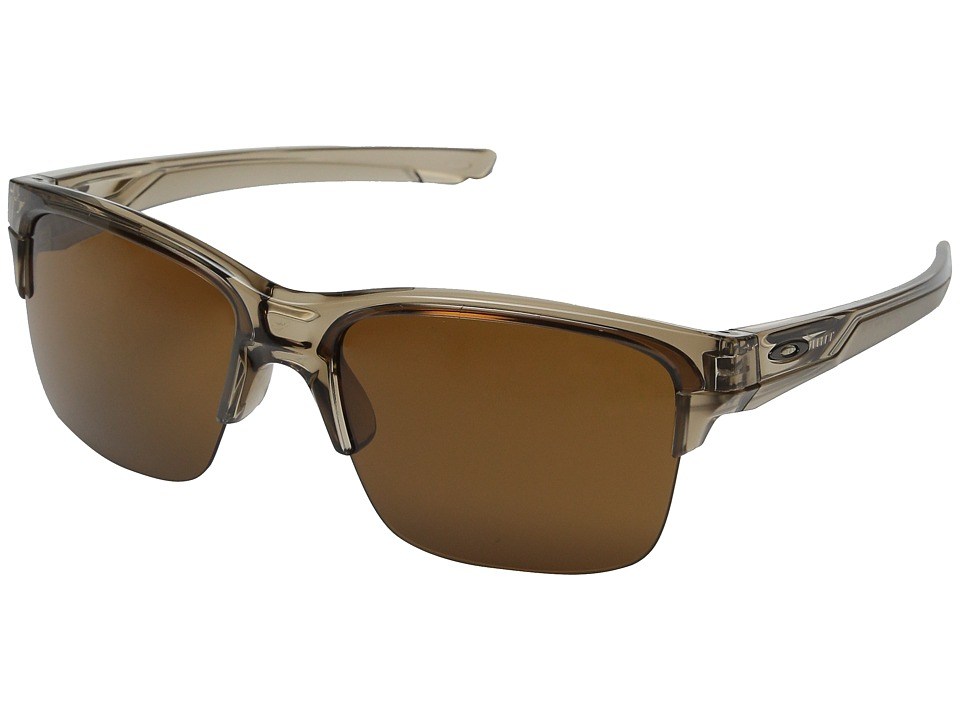 Oakley - Thinlink (Sepia/Dark Bronze) Plastic Frame Fashion Sunglasses