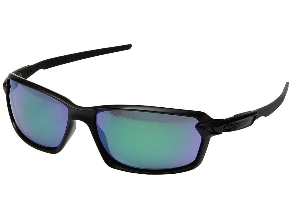 Oakley - Carbon Shift (Matte Black/Jade Iridium) Plastic Frame Fashion Sunglasses