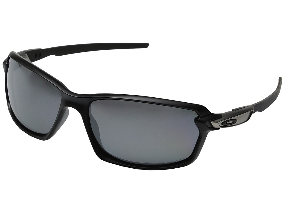 Oakley - Carbon Shift (Matte Black/Black Iridium Polarized) Plastic Frame Fashion Sunglasses