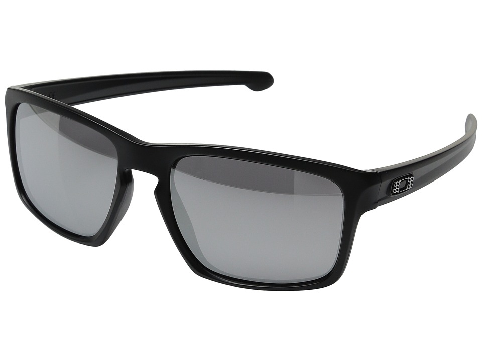 Oakley - Sliver (Machinist Matte Black/Chrome Iridium) Sport Sunglasses