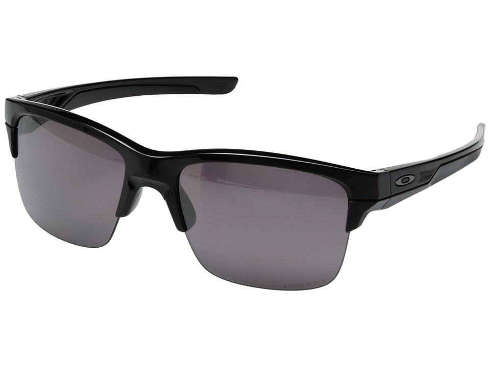 Oakley - Thinlink (Polished Black/Prizm Daily Polarized) Plastic Frame Fashion Sunglasses