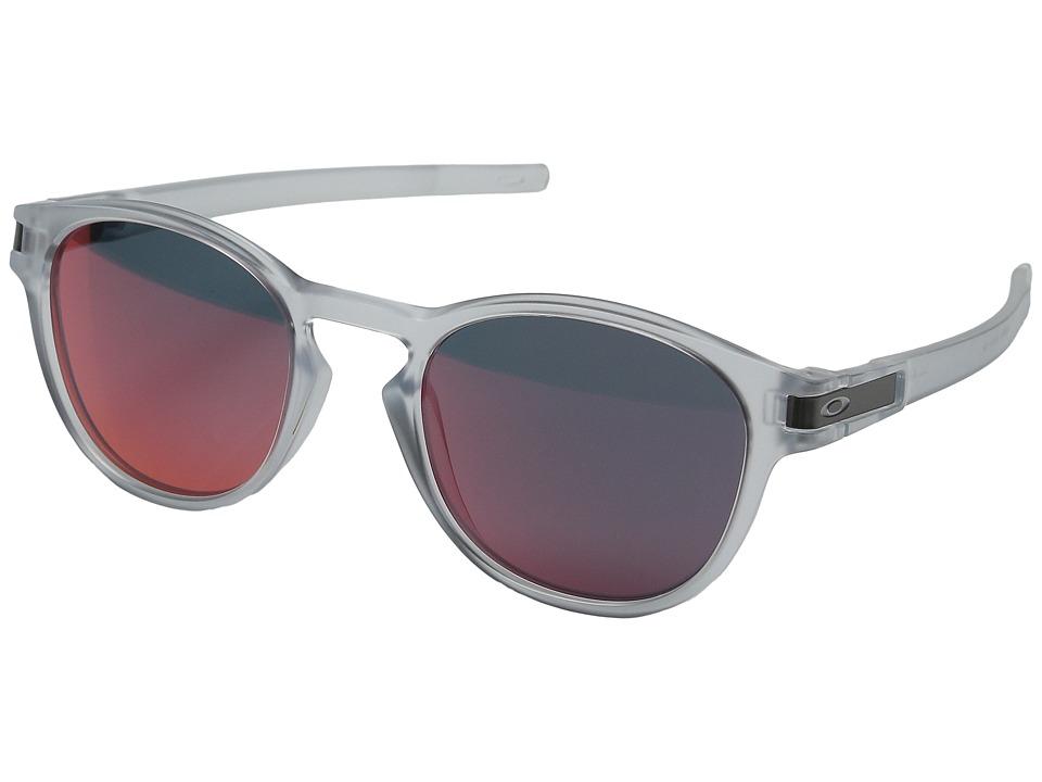 Oakley - Latch (Matte Clear/Torch Iridium) Snow Goggles