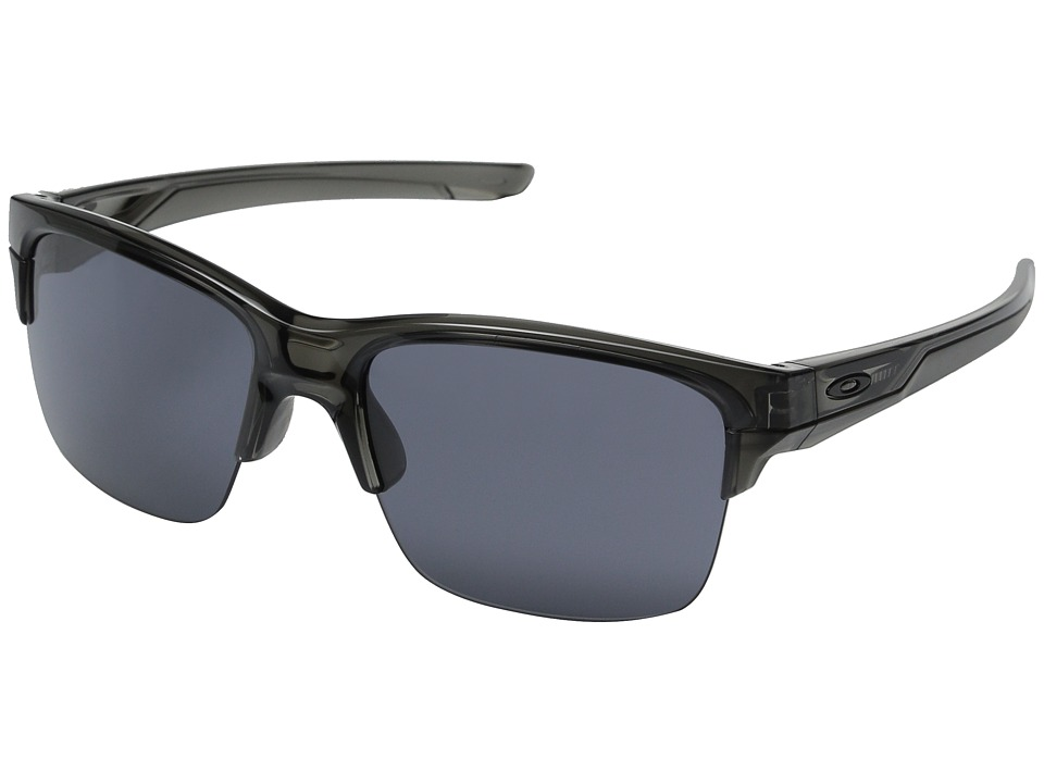 Oakley - Thinlink (Grey Smoke/Grey) Plastic Frame Fashion Sunglasses