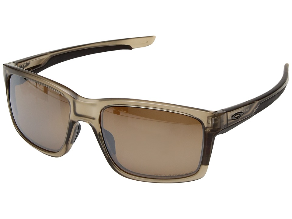 Oakley - Mainlink (Matte Sepia/Tungsten Iridium Polarized) Plastic Frame Fashion Sunglasses