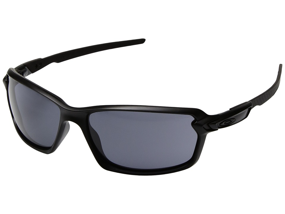 Oakley - Carbon Shift (Matte Black/Grey) Plastic Frame Fashion Sunglasses