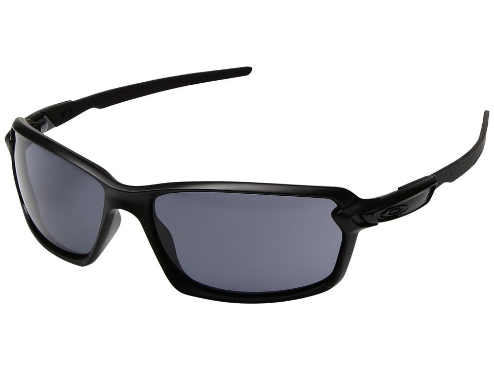 Oakley - Carbon Shift (Matte Black/Grey) Plastic Frame Fashion Sunglasses