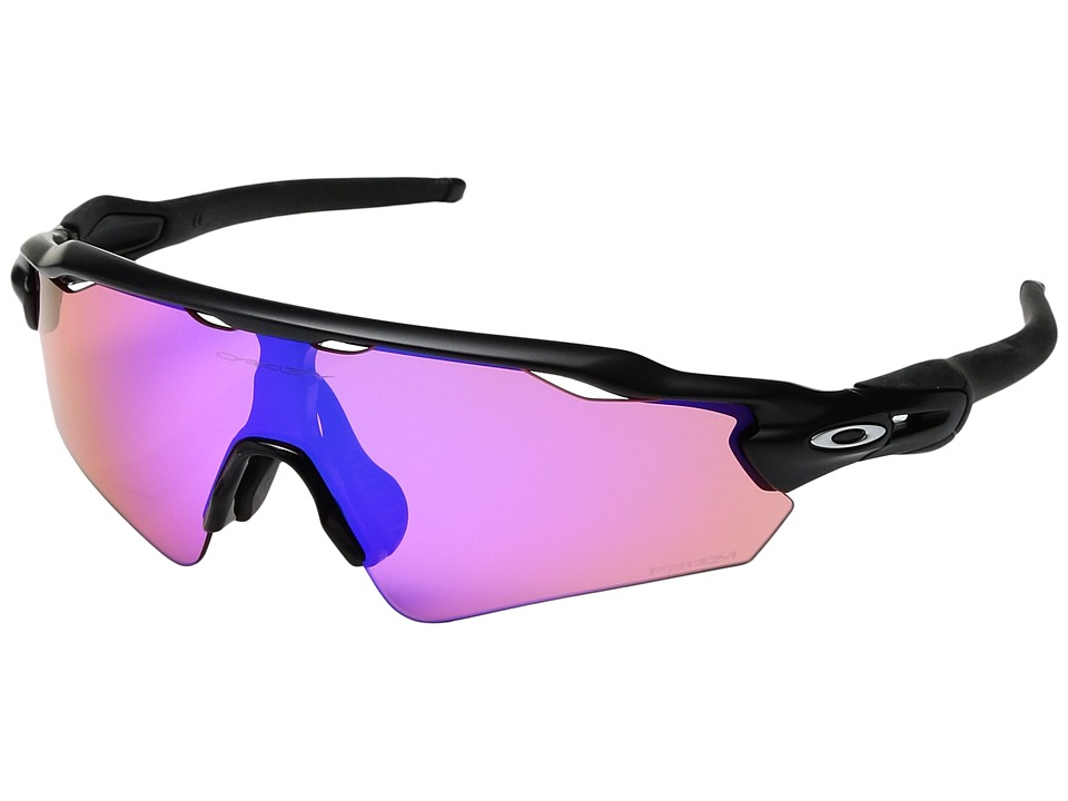 Oakley - Radar EV Asian (Matte Black/Prizm Trail) Sport Sunglasses