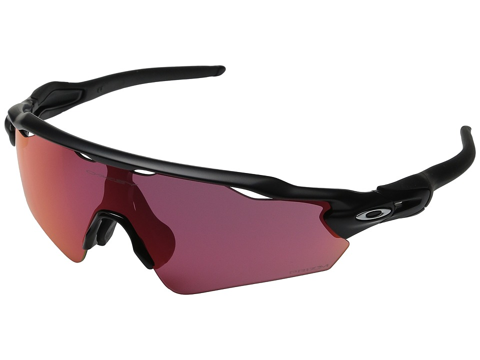 Oakley - Radar EV Asian (Matte Black/Prizm Outfield) Sport Sunglasses