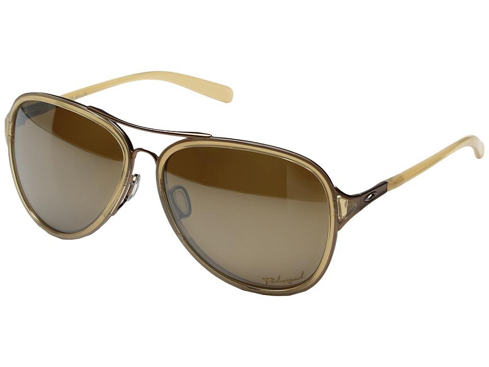 Oakley - Kickback (Topaz/Tungsten Iridium Polarized) Sport Sunglasses