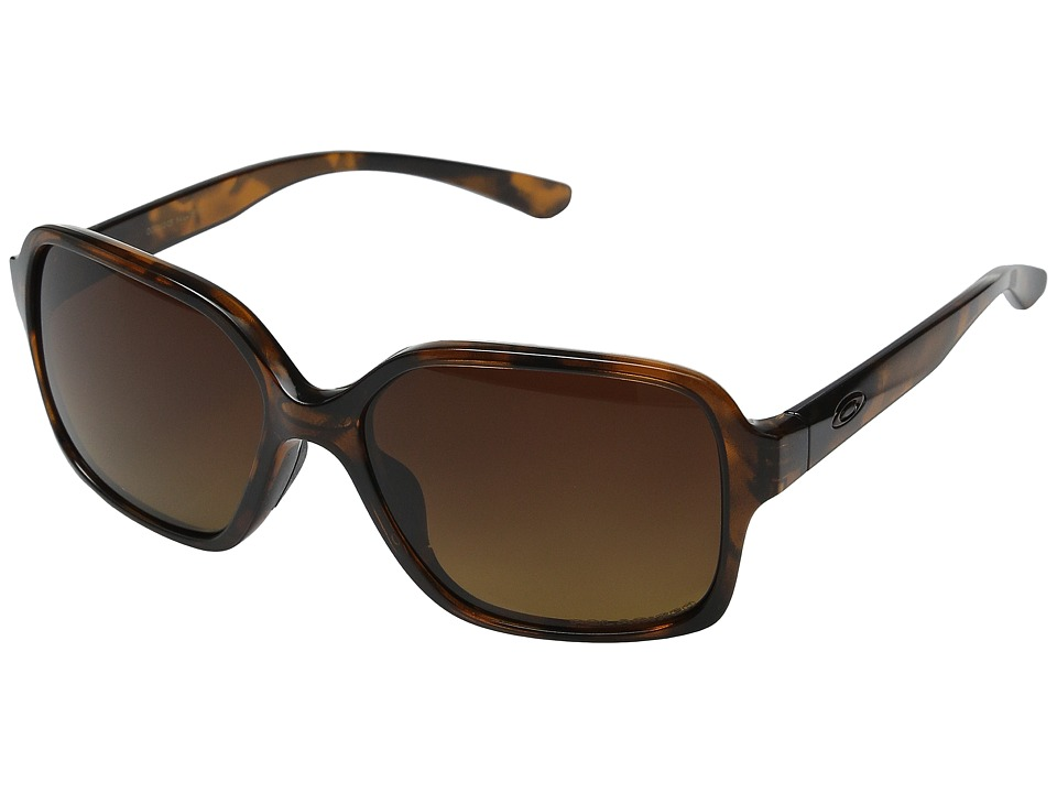 Oakley - Proxy (Tortoise/Brown Gradient Polarized) Plastic Frame Fashion Sunglasses