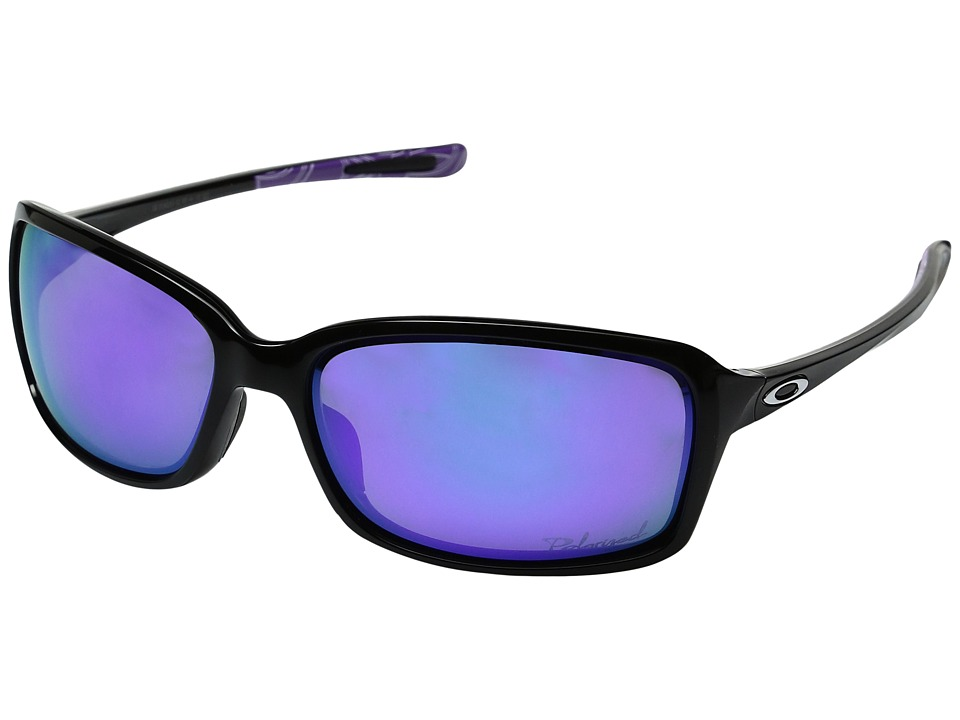 Oakley - Proxy (Matte Black/Sapphire Iridium) Plastic Frame Fashion Sunglasses