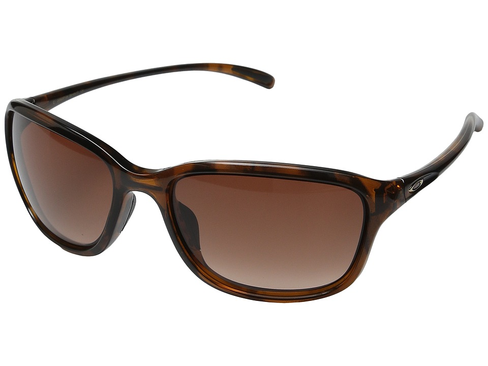 Oakley - She's Unstoppable (Tortoise/VR50 Brown Gradient) Plastic Frame Fashion Sunglasses
