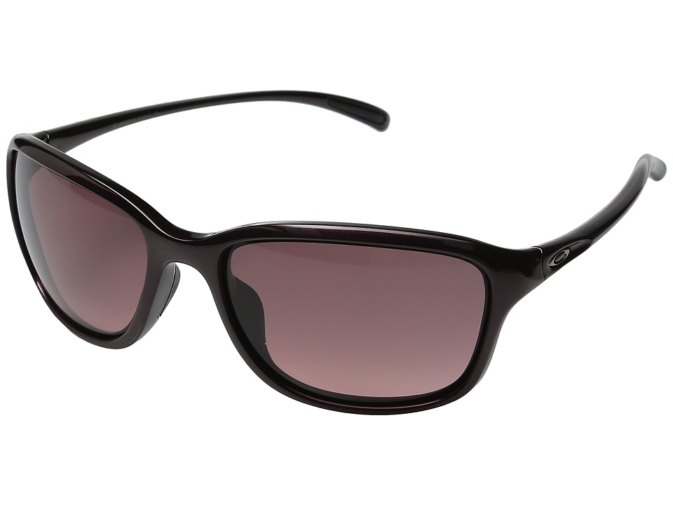 Oakley - She's Unstoppable (Raspberry Spritzer/G40 Black Gradient) Plastic Frame Fashion Sunglasses