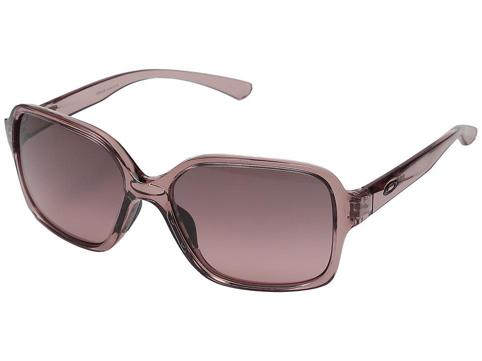 Oakley - Proxy (Rose Quartz/G40 Black Gradient) Plastic Frame Fashion Sunglasses