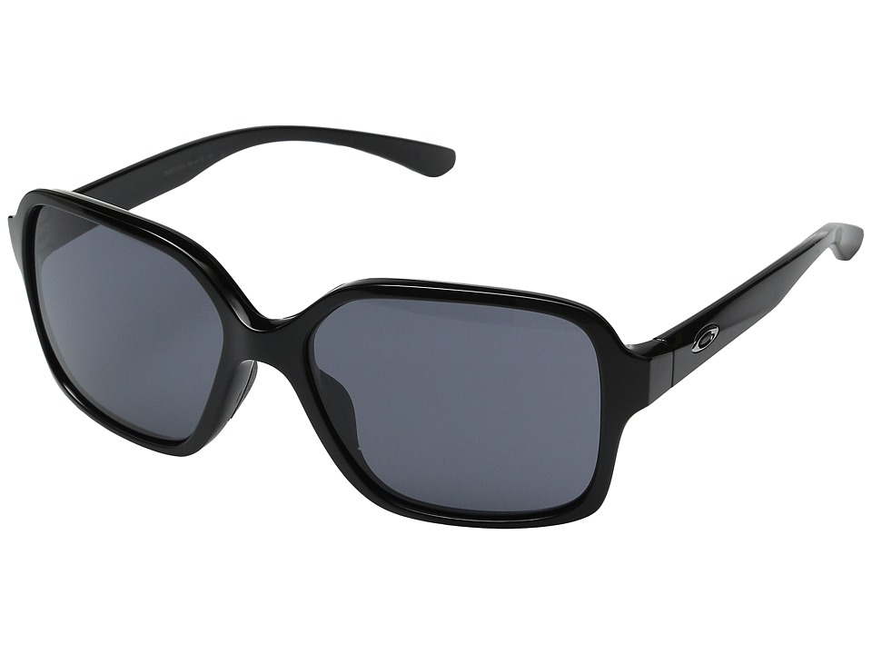 Oakley - Proxy (Polished Black/Grey) Plastic Frame Fashion Sunglasses