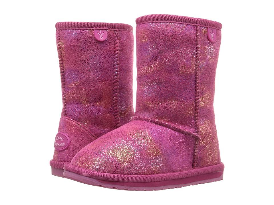 EMU Australia Kids - Northern Lights (Toddler/Little Kid/Big Kid) (Hot Pink) Girls Shoes