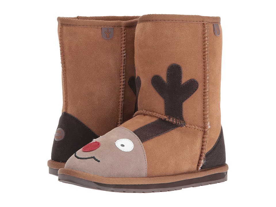EMU Australia Kids - Reindeer (Toddler/Little Kid/Big Kid) (Chestnut) Kids Shoes