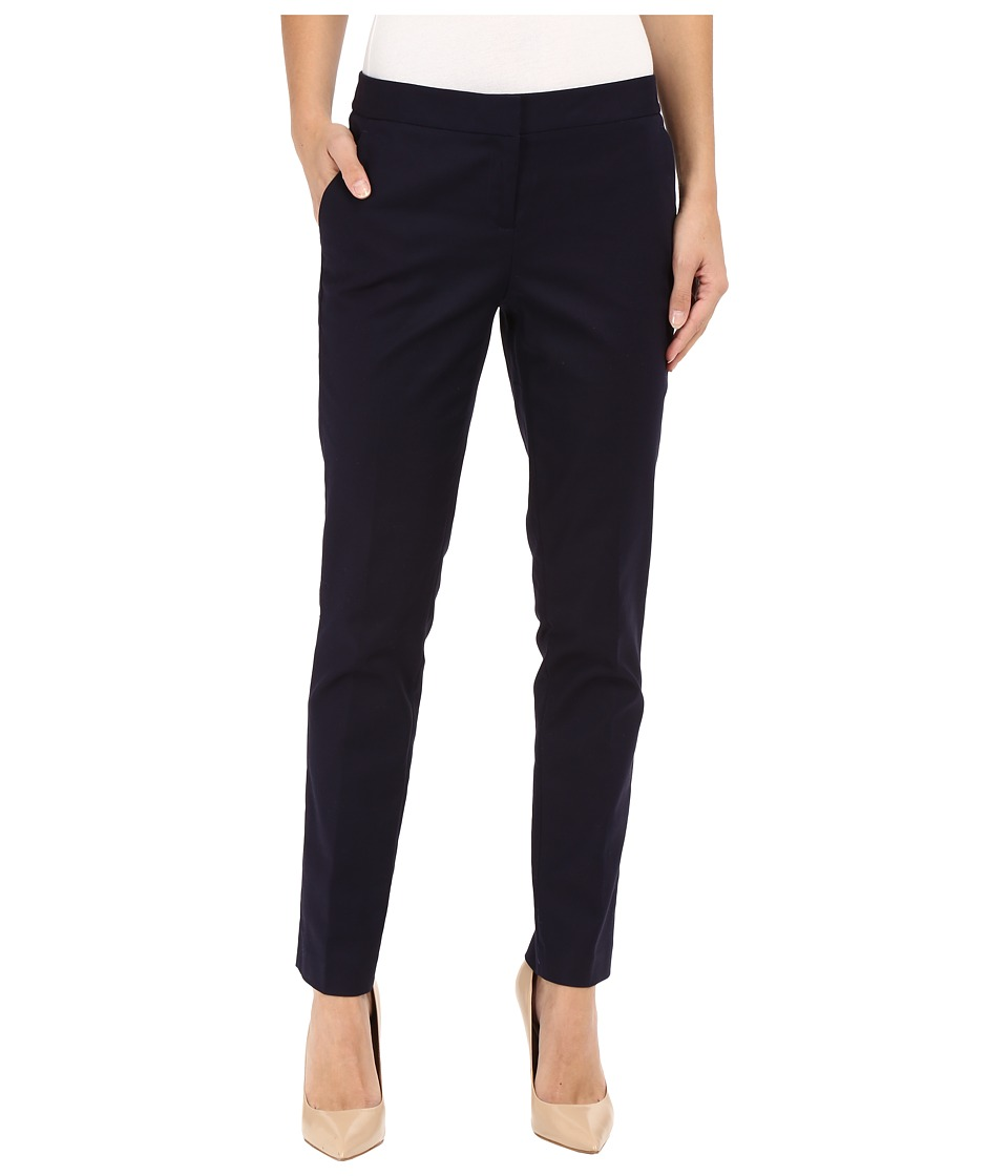 Vince Camuto - Front Zip Ankle Pants (Evening Navy) Women's Casual Pants