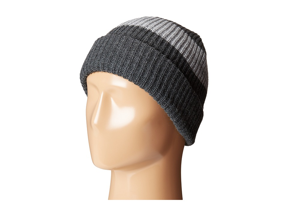 Brixton - Segovia Beanie (Charcoal/Grey) Knit Hats