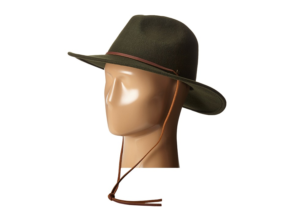 Brixton - Field Hat (Moss) Traditional Hats