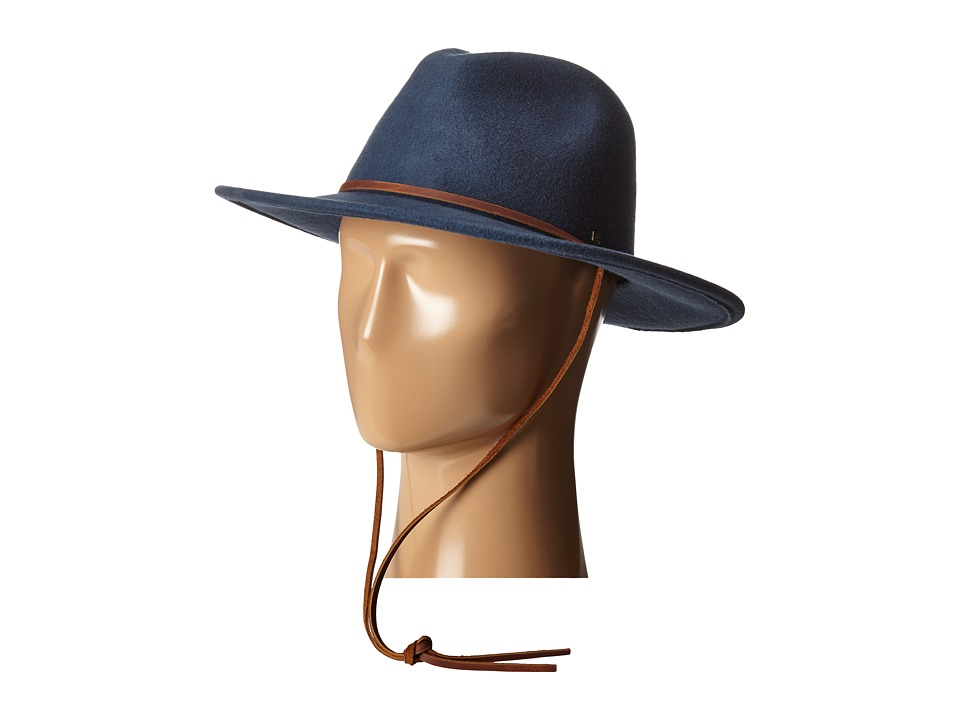 Brixton - Field Hat (Indigo) Traditional Hats