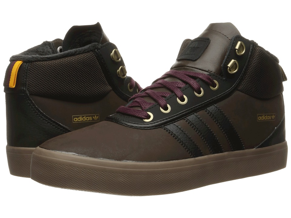 adidas Skateboarding - Adi-Trek (Brown/Core Black/Maroon) Men's Skate Shoes