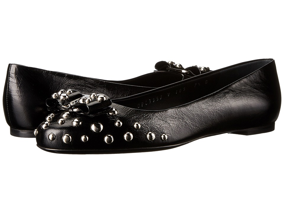 Salvatore Ferragamo - Varina Rock (Nero) Women's Flat Shoes