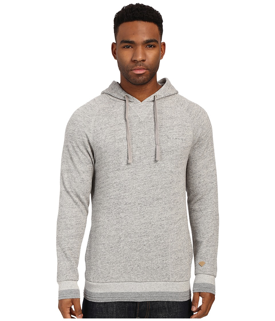 Diamond Supply Co. - Facet Pullover Hoodie (Quarry) Men's Sweatshirt