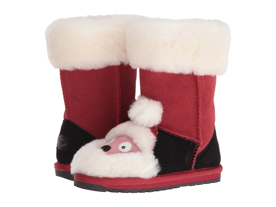EMU Australia Kids - Little Santa (Toddler/Little Kid/Big Kid) (Red) Kids Shoes