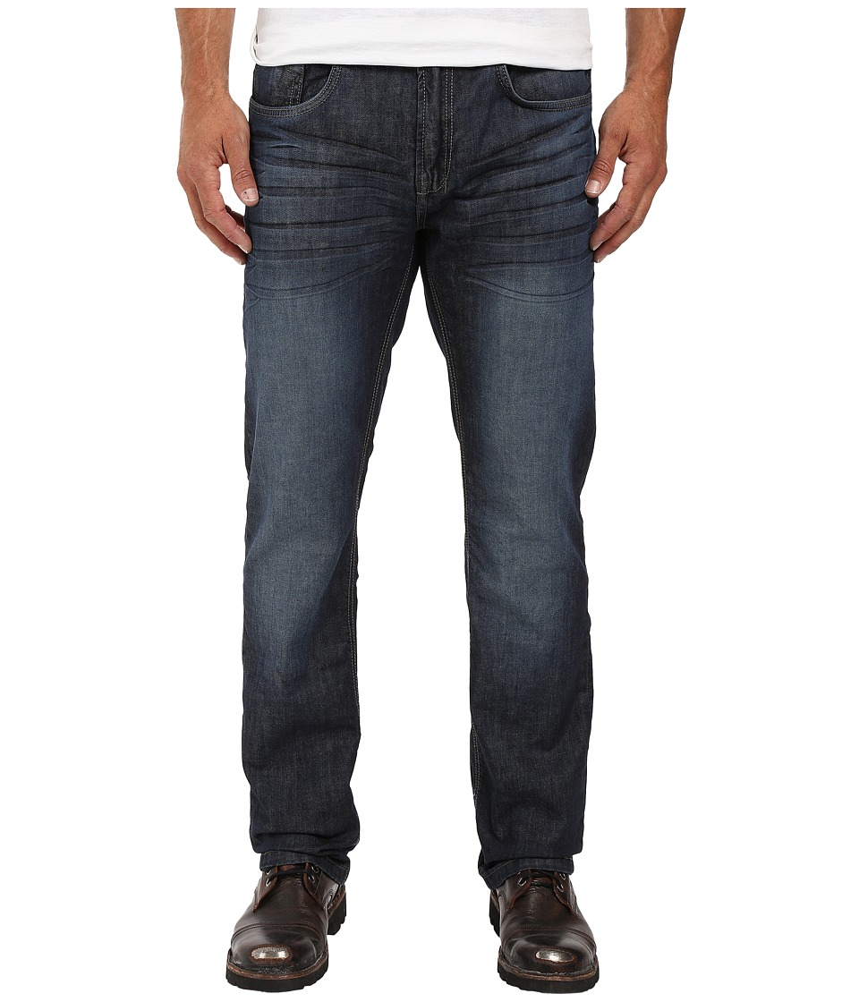 Buffalo David Bitton - Six Slim Straight Leg Jeans in Rigid and Slightly Sanded (Rigid/Slightly Sanded) Men's Jeans