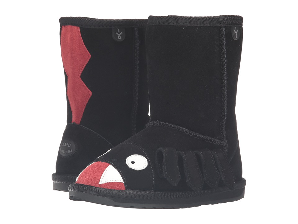 EMU Australia Kids - Redback (Toddler/Little Kid/Big Kid) (Black) Kids Shoes