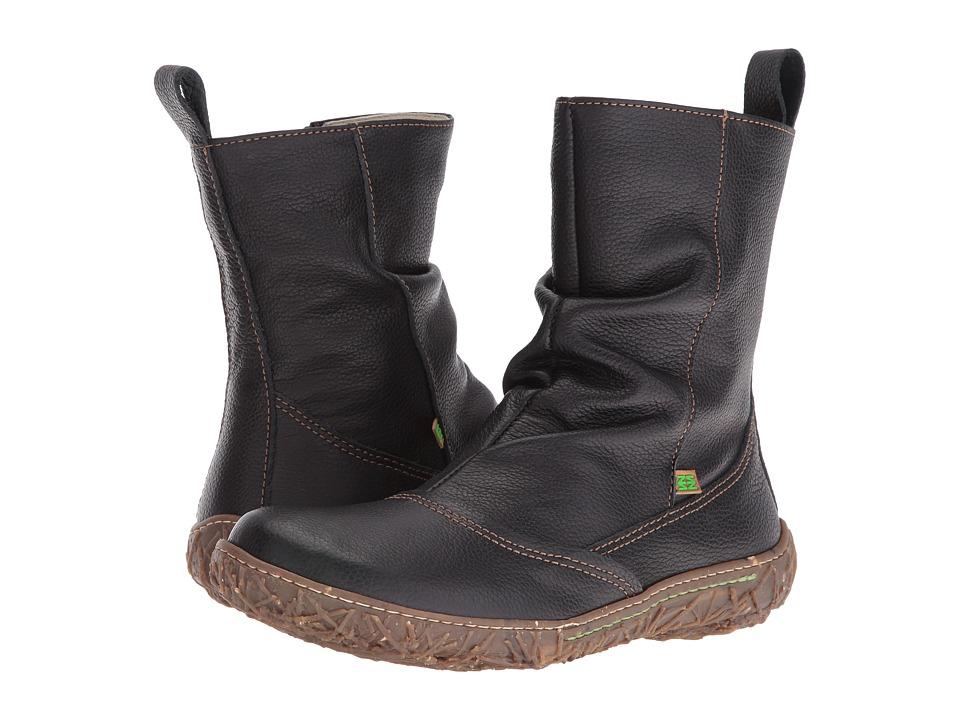 El Naturalista - Nido N722 (Black) Women's Shoes