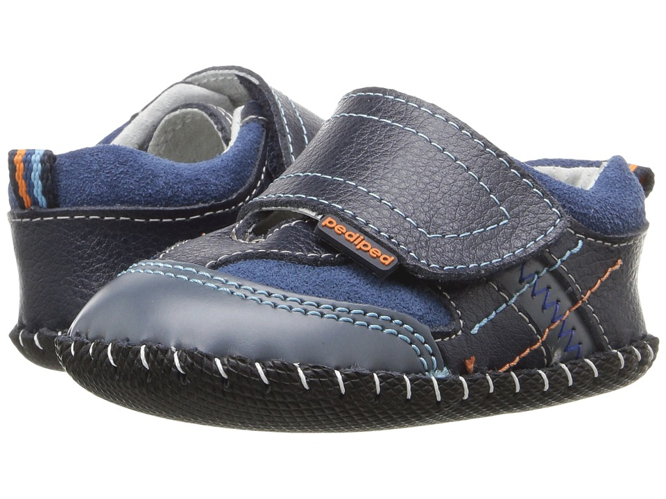pediped - Clive Originals (Infant) (Navy) Boy's Shoes