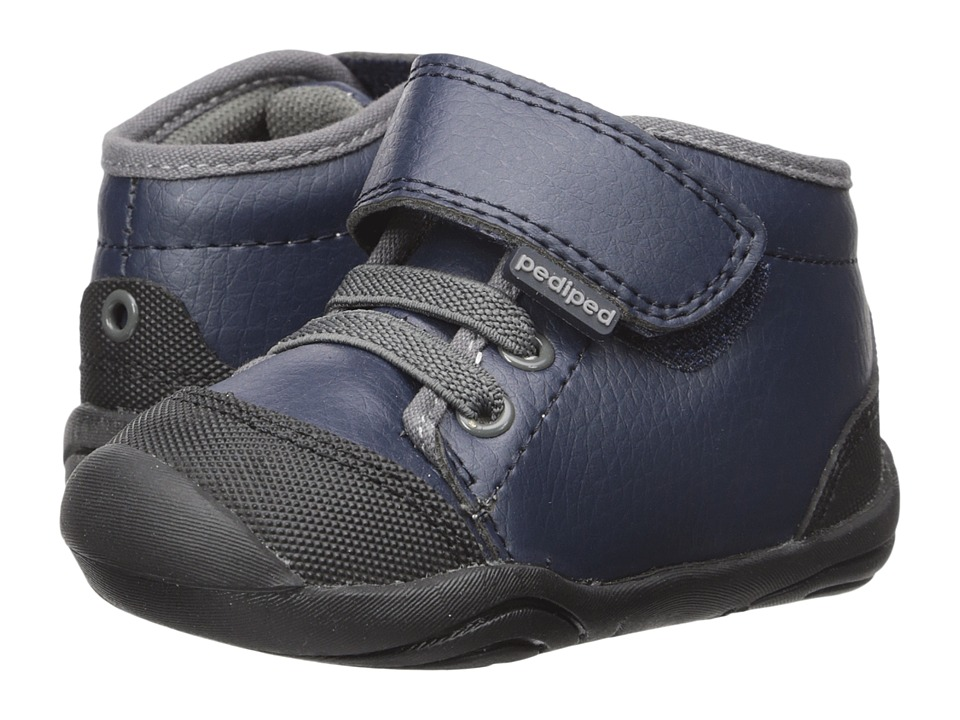 pediped - Jay Grip n Go (Toddler) (Navy) Boy's Shoes