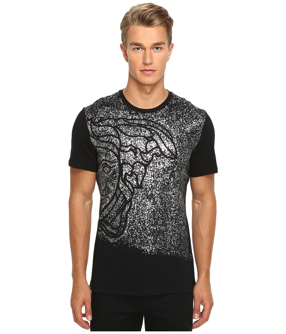 Versace Collection - V800683 (Black Print) Men's T Shirt