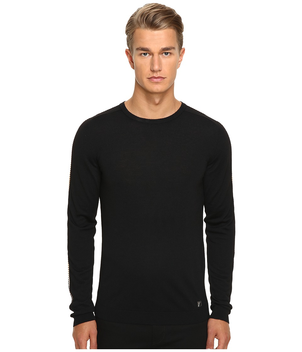 Versace Collection - V700613 (Black/Gold) Men's Sweater