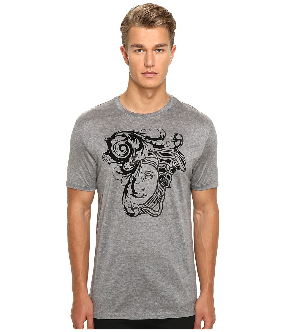 Versace Collection - V800683 (Grey Print) Men's T Shirt