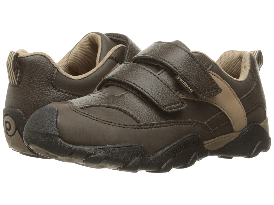 pediped - Highlander Flex (Toddler/Little Kid/Big Kid) (Chocolate 1) Boy's Shoes