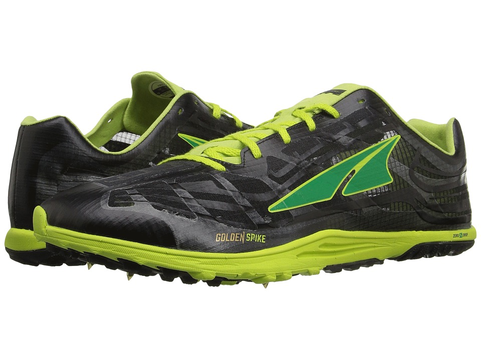 Altra Footwear - Golden Spike (Lime/Black) Athletic Shoes