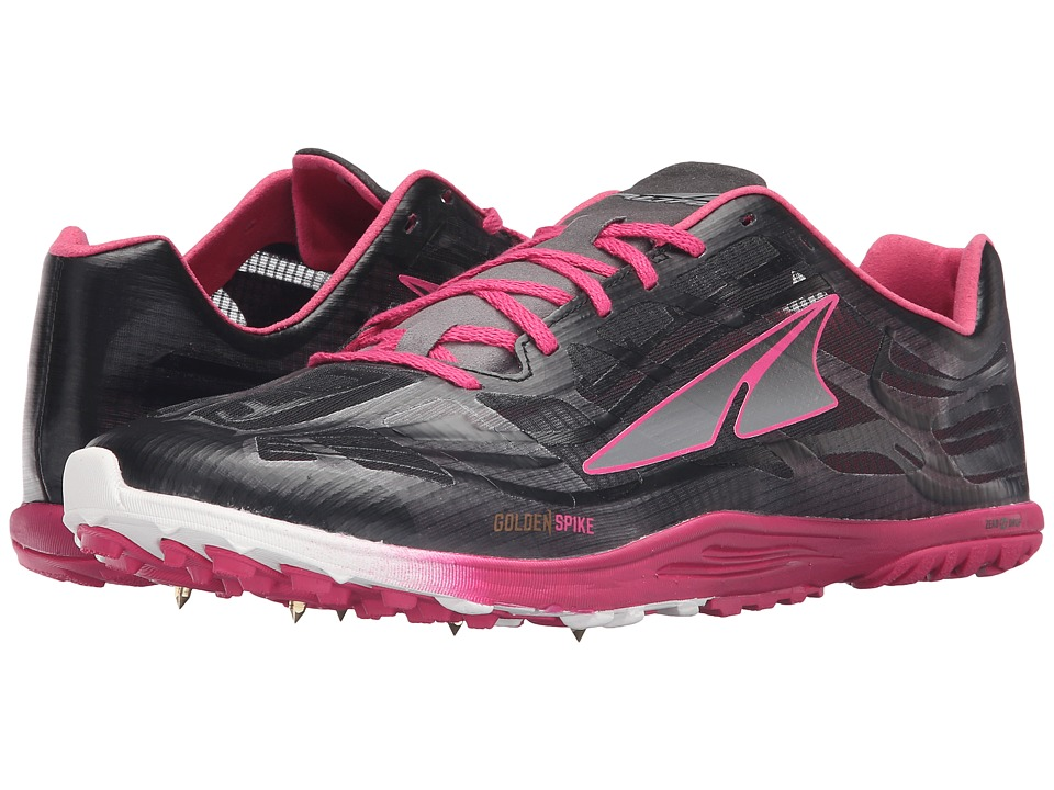 Altra Footwear Golden Spike (Black/Diva Pink) Athletic Shoes