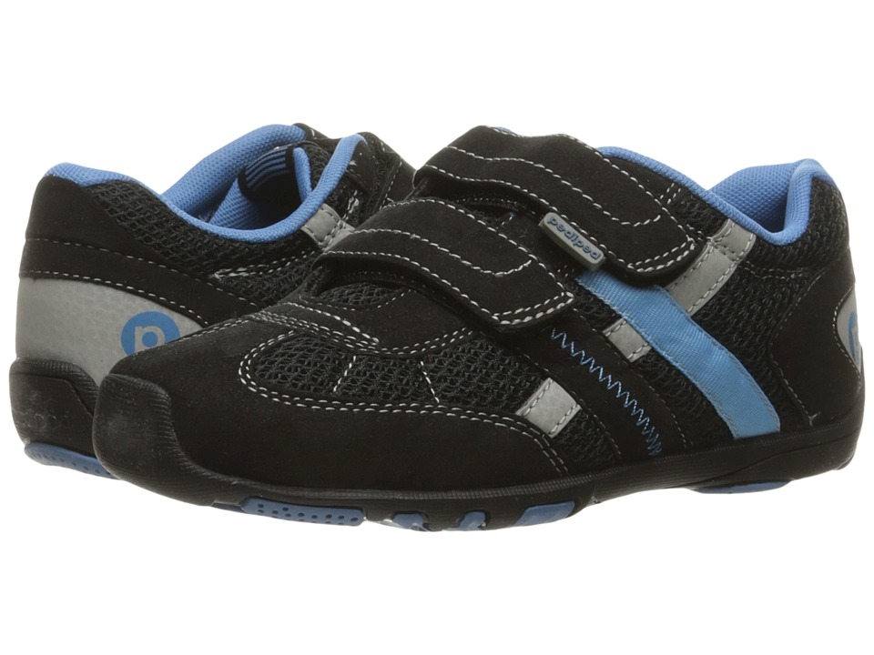 pediped - Gehrig Flex (Toddler/Little Kid) (Black Sky) Boys Shoes
