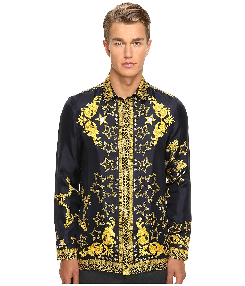 Versace Collection - V300199 (Grey/Yellow) Men's Clothing