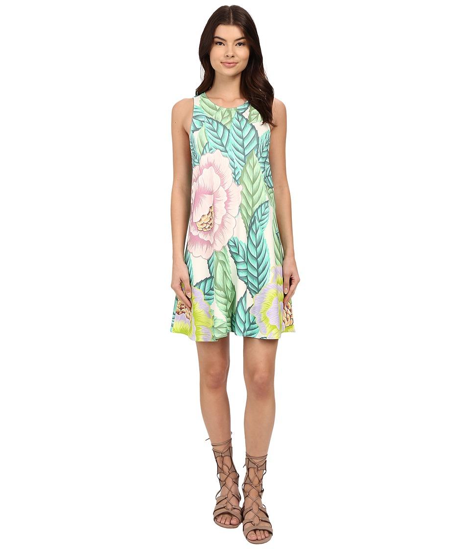 Mara Hoffman - Ponte Swing Dress (White Multi) Women's Dress