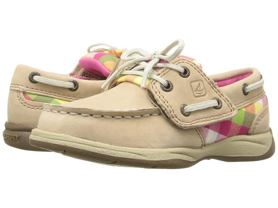 Sperry Top-Sider Kids - Intrepid (Toddler/Little Kid) (Linen Multi) Girl's Shoes