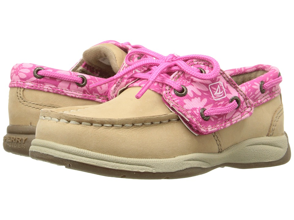 Sperry Top-Sider Kids - Intrepid Jr. (Toddler/Little Kid) (Linen/Pink Wildflower) Girl's Shoes