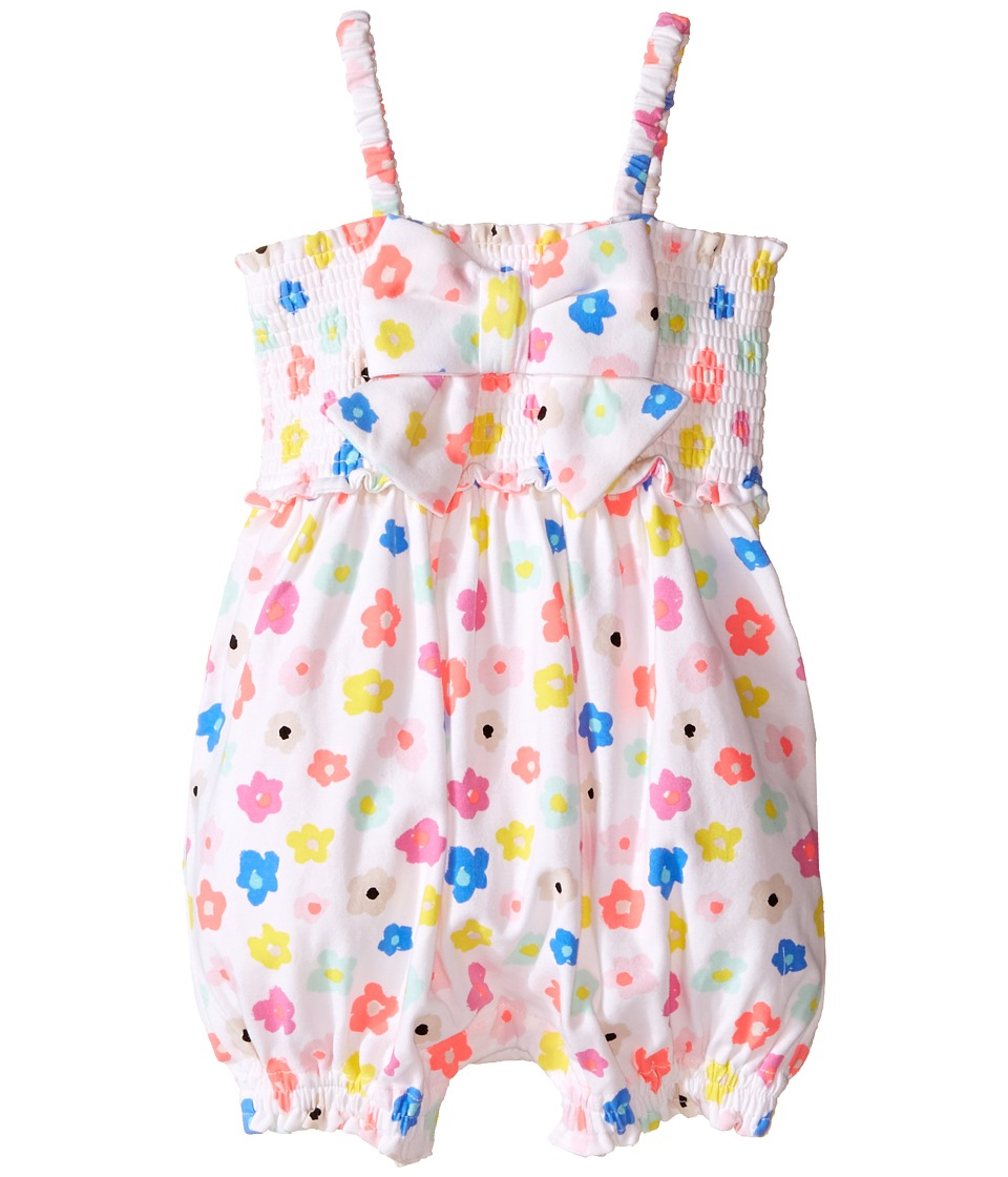 Kate Spade New York Kids - Romper (Infant) (Faye Floral) Girl's Jumpsuit & Rompers One Piece