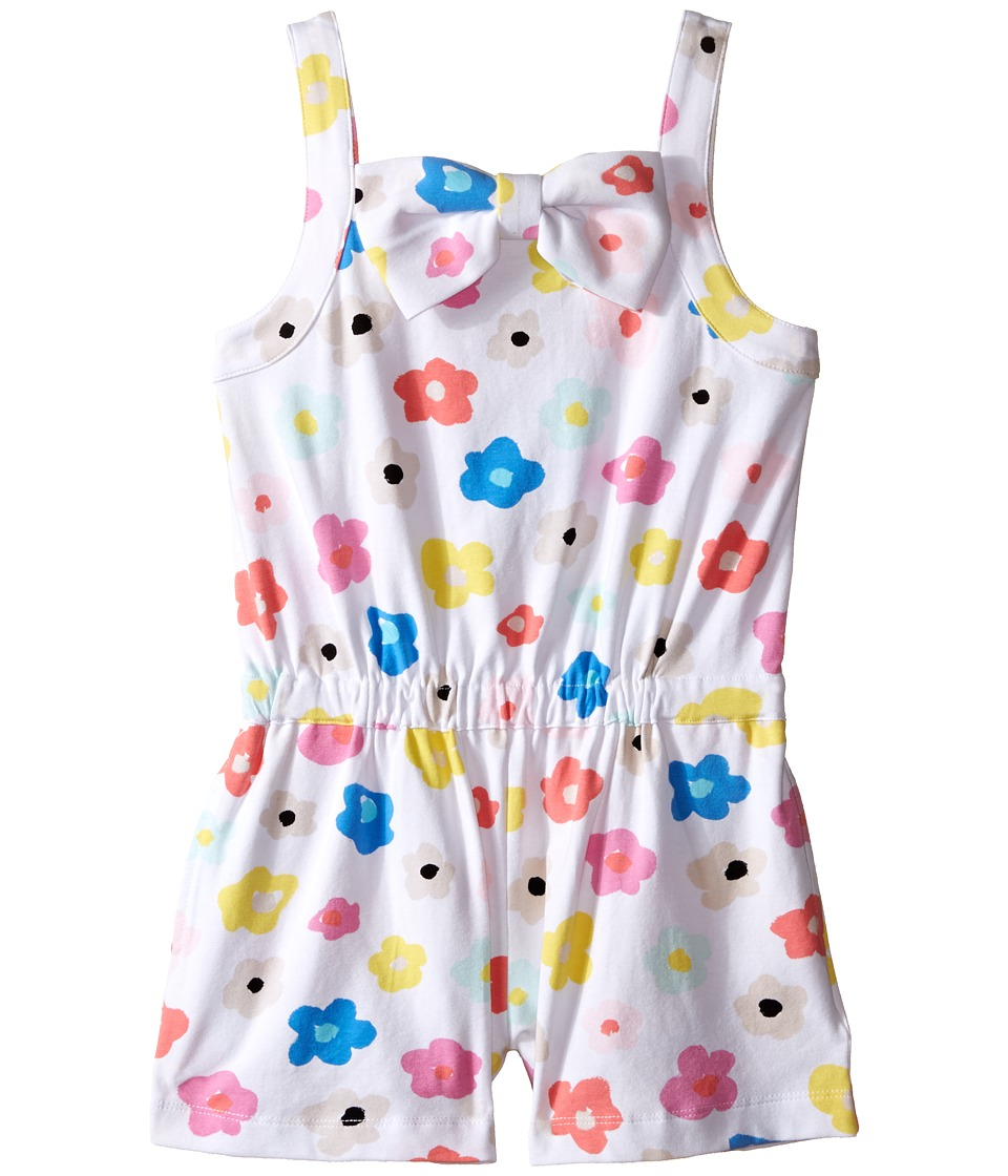 Kate Spade New York Kids - Romper (Toddler/Little Kids) (Faye Floral) Girl's Jumpsuit & Rompers One Piece