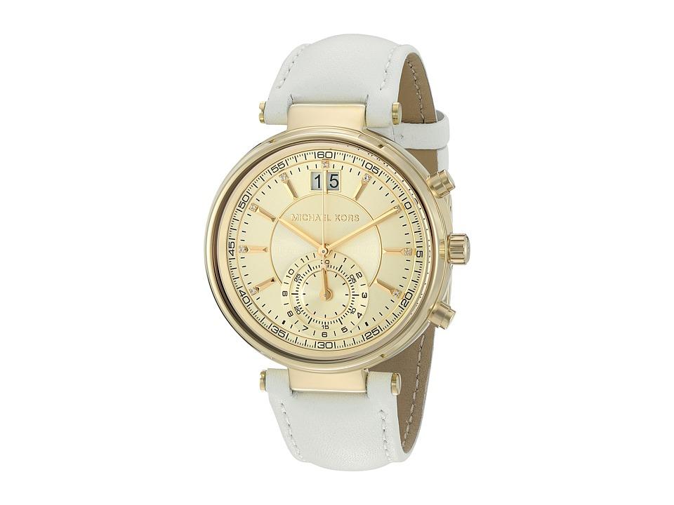 Michael Kors - MK2528 - Sawyer (White) Watches