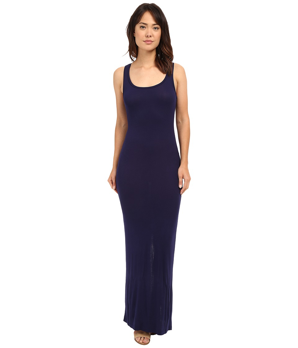 HEATHER - Scoop Neck Maxi Tank Dress (Eclipse) Women's Dress